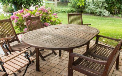 Teak havemøbler – indret din have med stil