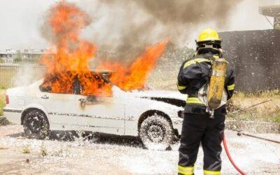 Sådan vælger du en brandslukker til bil